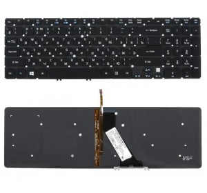 Клавиатура Acer V5 V5-571 V5-531 V5-551 с подсветкой