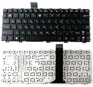 Клавиатура Asus Eee PC 1015 1011 X101 X101C (горизонтальный Enter) Черная