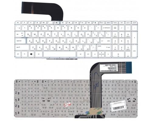 Клавиатура HP 15-v 15-p 17-f белая