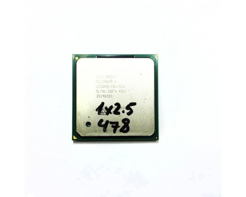 SL7NU (Intel Celeron D 325) (478 / 1x2.5)