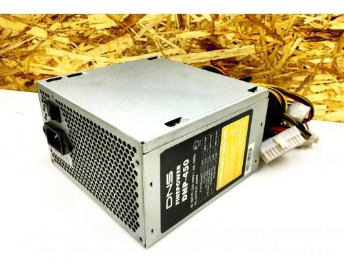ATX БП DNS FINEPOWER DNP-450 (MQ 3sata / 4molex / 4pin cpu / 8pin vga)