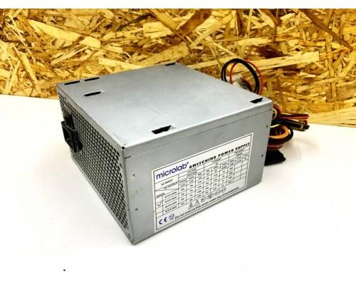 ATX БП Microlab M-ATX-360W (MQ +2sata / 4molex)