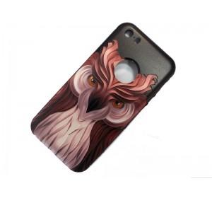 Задняя накладка iPhone 5 3D сова