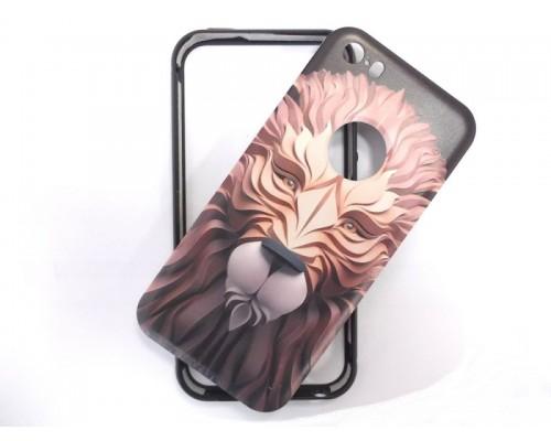 Задняя накладка iPhone 5 3D лев