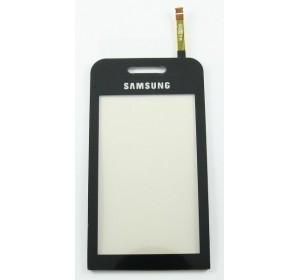Тачскрин (сенсор, стекло) Samsung S5230 Черный