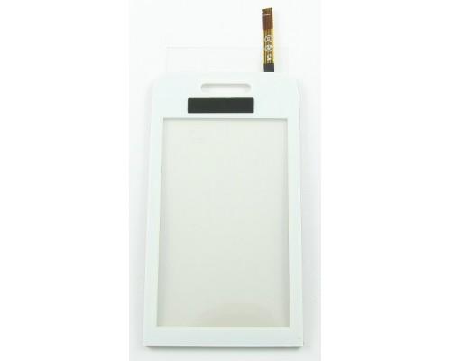 Тачскрин (сенсор, стекло) Samsung S5230 Белый