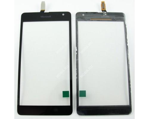 Тачскрин (сенсор, стекло) Microsoft Lumia 535 Dual Sim Черный