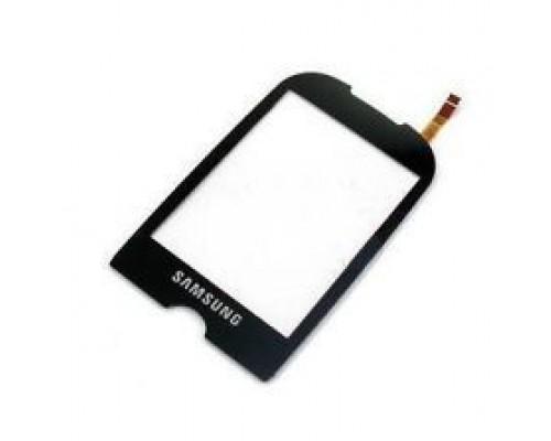 Тачскрин (сенсор, стекло) Samsung GT-S3650 Черный