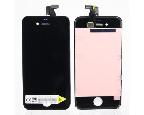 Дисплей в сборе с тачскрином (модуль) iphone 4 (черный) AA