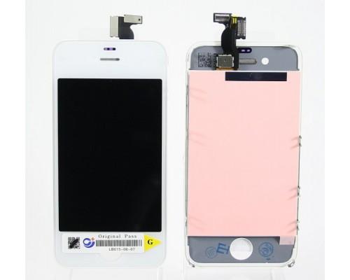Дисплей в сборе с тачскрином (модуль) iphone 4 (белый) AA
