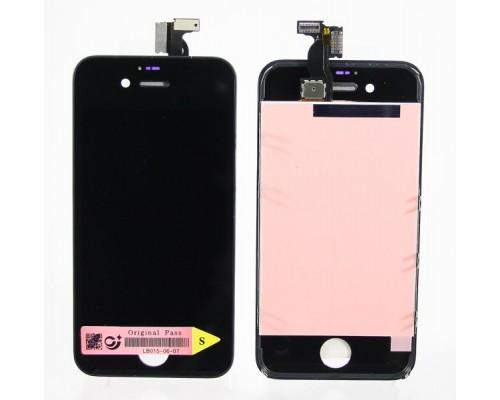 Дисплей в сборе с тачскрином (модуль) iphone 4s (черный) AA