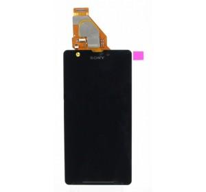Дисплей в сборе с тачскрином (модуль) Sony C5502 (ZR) Черный