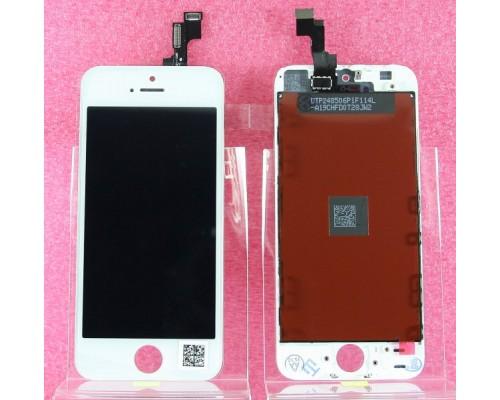 Дисплей в сборе с тачскрином (модуль) iphone 5s (белый) AA
