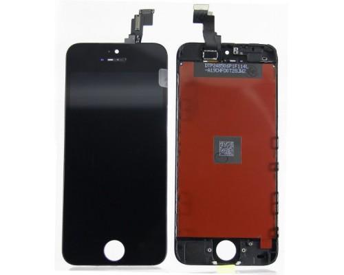 Дисплей в сборе с тачскрином (модуль) iphone 5c (черный) AA