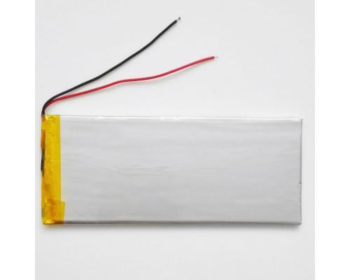 АКБ универсальная 3555130p 3,7v Li-Pol 3000 mAh (3.5*55*130 mm)