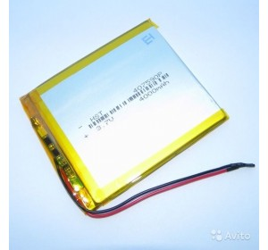 АКБ универсальная 407590p 3,7v Li-Pol 4000 mAh (4*75*90 mm)