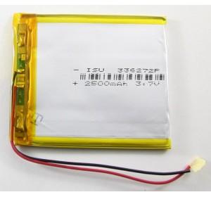 АКБ универсальная 336272p 3,7v Li-Pol 2500 mAh (3.3*72*62 mm)