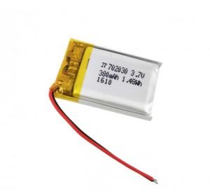 АКБ универсальная 702030p 3,7v Li-Pol 350 mAh (7*20*30 mm)