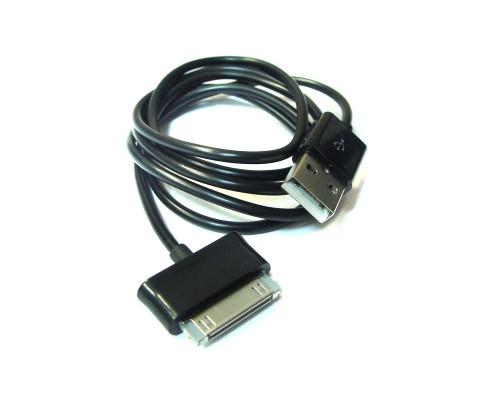 Дата-кабель Samsung Galaxy Tab P1000, P6800, 7500, 7300, 7320 (1м) (черный)