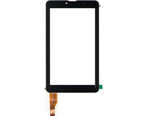 """Тачскрин (сенсор, стекло) 7.0"""" FPC-753A0-V02 (185*107) Чёрный"""