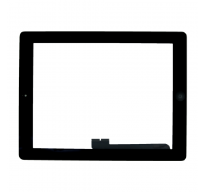 Сенсор iPad 3, iPad 4 с кнопкой Home (Черный) - AA
