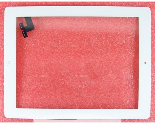 Тачскрин (сенсор, стекло) iPad 2 (Белый) - AA