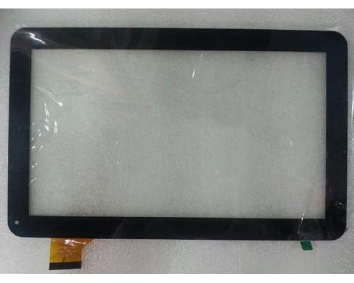 Тачскрин (сенсор, стекло) 10.1'' QSD 701-10059-02/xc-pg1010-019-a0 (257*160 mm) Черный