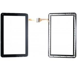 Сенсор 10.1'' China Tab 50 pin (256*170mm) Черный