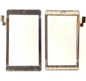 """Сенсор 7.0"""" Texet TM-7042 36 pin (106x186mm) Черный без выреза"""