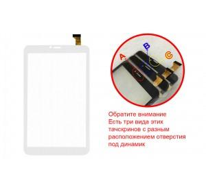 Сенсор 8.0'' DEXP Ursus NS280 30 pin (203х120mm) Белый