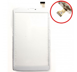 "Сенсор 8.0"" CHINA TAB 30 pin (204*120mm) Белый"